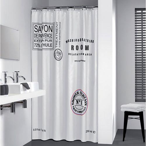 Pisla suihkuverho 180x200cm, Savon de Provence