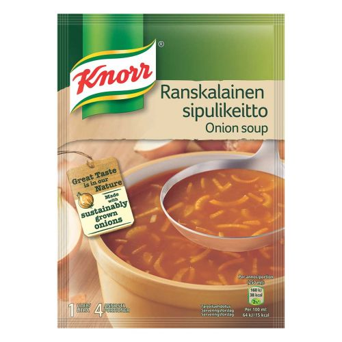 KNORR RANSKALAINEN SIPULIKEITTO 2-PACK 104 G