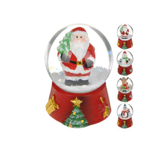 Lumisadepallo Jouluaihe