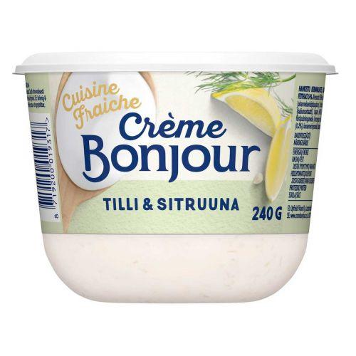 CREME BONJOUR CUISINE FRAICHE TILLI&SITRUUNA 14% 240 G