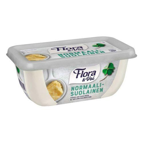 FLORA & VOI NORMAALISUOLAINEN 70% 400 G