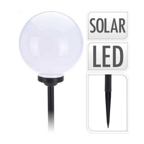 Led Solarvalo valkoinen pallo Ø25cm K63,5cm