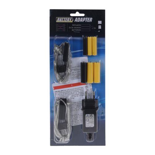 Battery Eliminator 4xAA & 4xAAA paristoadapteri