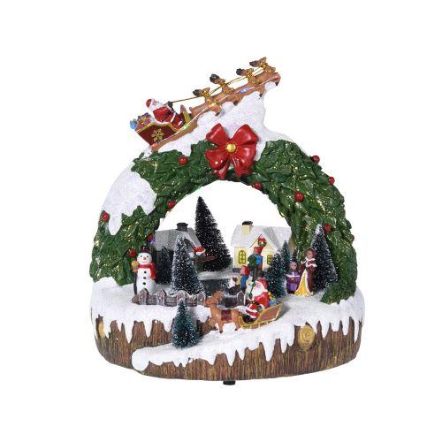 Led joulumaisema liikkeellä 240x240x245mm