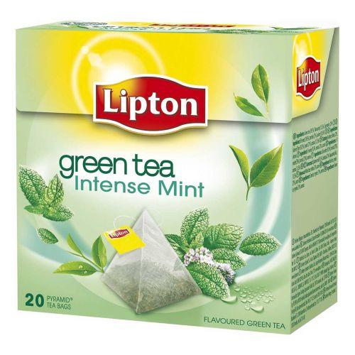 LIPTON PYRAMID GREEN TEA MINT 20PS