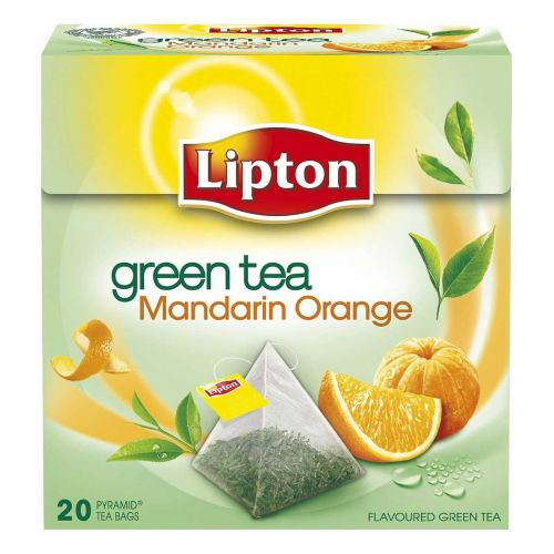 LIPTON GREEN TEA MANDARINE ORANGE 20PS