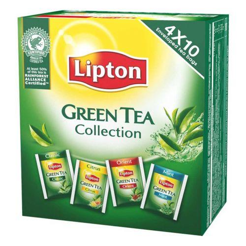 LIPTON GREEN TEA COLLECTION 4 X 10PS