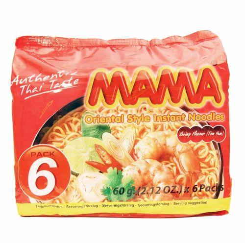 MAMA NUUDELI KATKARAVUNMAKUINEN 6-PACK 360 G
