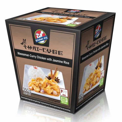 KITCHEN JOY THAI-CUBE MASSAMAN CURRYKANA-RIISI 350 G