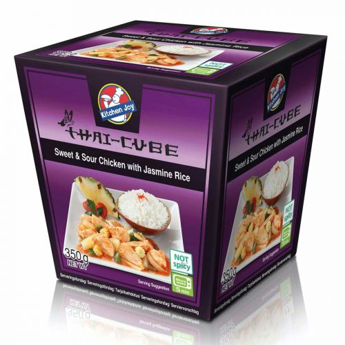 KITCHEN JOY THAI-CUBE HAPANIMELÄKANA-RIISI 350 G