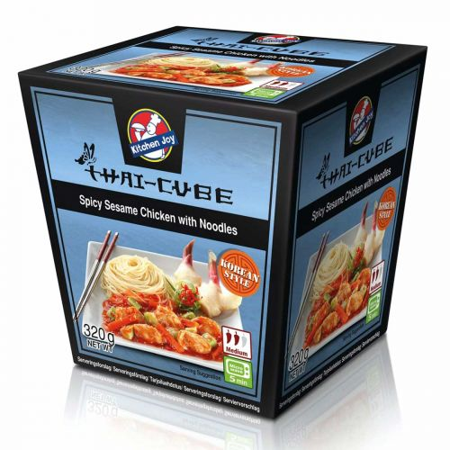 KITCHEN JOY THAI-CUBE SPICY SEESAMIKANA-NUUDELI 320 G