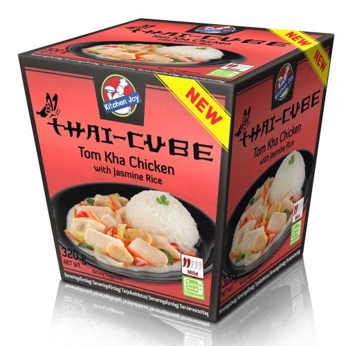 KITCHEN JOY THAI-CUBE TOM KHA KANA-RIISI 320 G