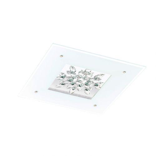 Benalua led-kristalliplafondi 47cm 24W