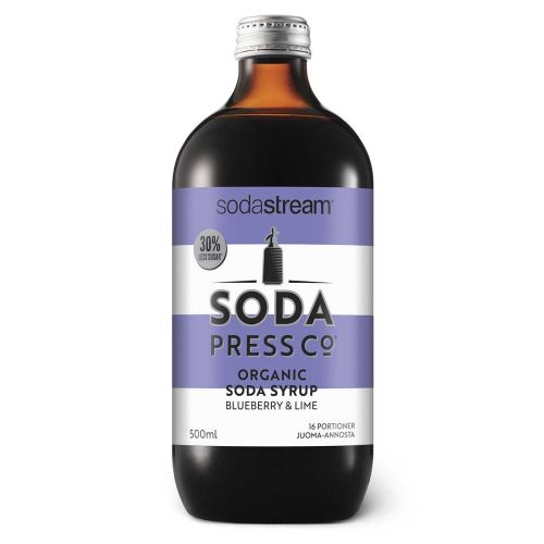 SODASTREAM SODAPRESS JUOMATIIVISTE BLUEBERRY & LIME 500ML 500 ML