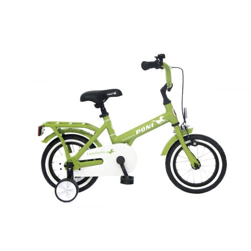 Tunturi 12'' Poni lasten polkupyörä 1-V, vihreä