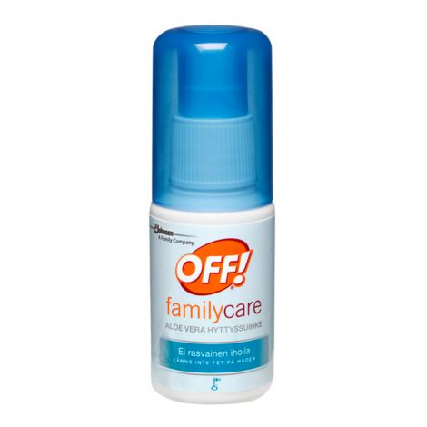 OFF! Family Care Aloe Vera hyttyssuihke 50ml
