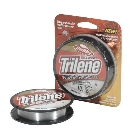 BERKLEY TRILENE FLUOROCARBON XL 0,22MM 200M CLEAR