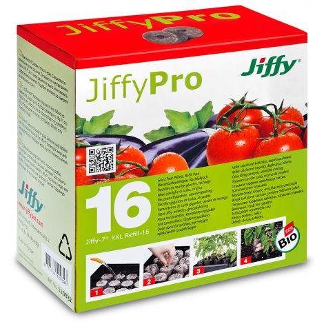 JiffyPro XXL iso turvepelletti 50mm 16kpl