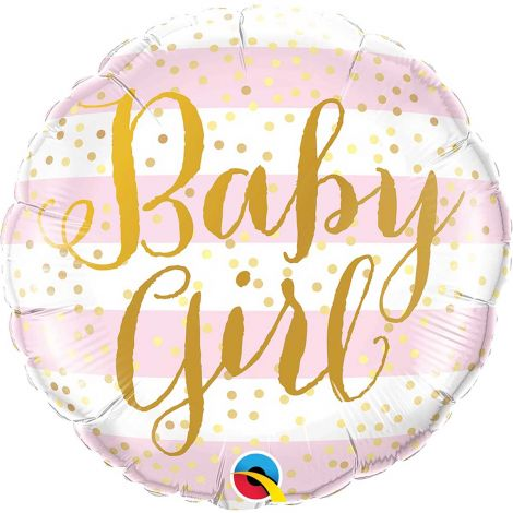 Baby Girl raidat foliopallo