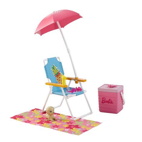 Barbie puutarhahuonekalut DXB69