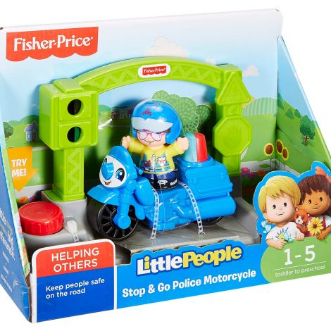 FISHER PRICE LITTLE PEOPLE AJONEUVO, LAJITELMA