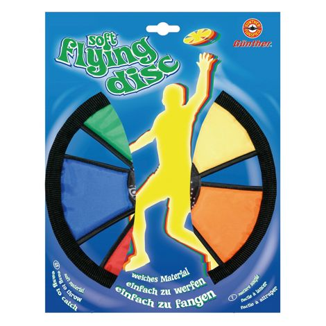 GÜNTHER SOFT-FLYING-DISC- FRISBEE 25CM