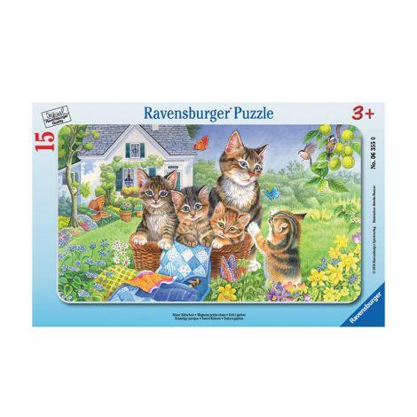 Ravensburger Kissat palapeli 15 palaa