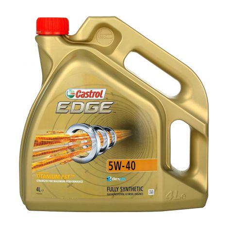 CASTROL EDGE FST TIT 5W-40 4 L  4 L
