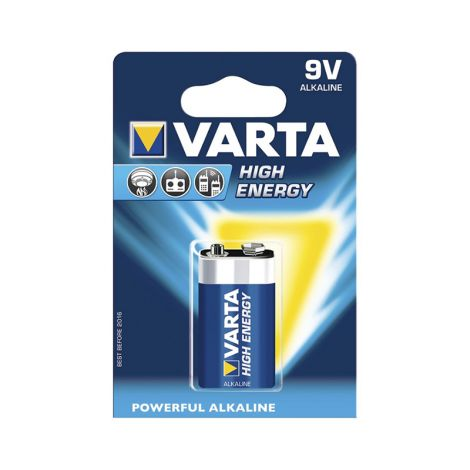 VARTA PARISTO HIGH ENERGY 9V