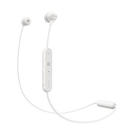 SONY WI-C300 Bluetooth nappikuulokkeet, valkoinen