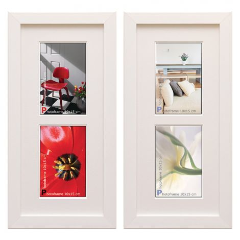 ART LINK KEHYS TRENDLINE COLLAGE WHITE 17,5X 39
