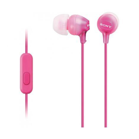 SONY MDR-EX15AP Nappikuuloke, pinkki