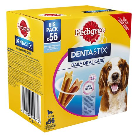Pedigree Dentastix Medium 180G 56-pack 1,44 kg