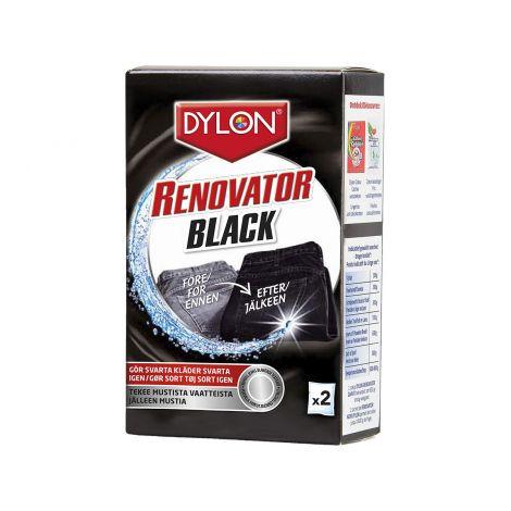 DYLON BLACK RENOVATOR VÄRINPALAUTTAJA 2-PACK 100 G