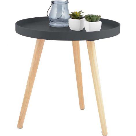 Pöytä pyöreä halk. 41cm, musta