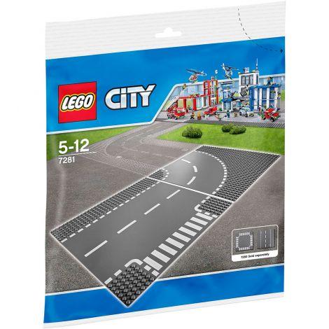 LEGO City 7281 T-risteys ja kaarre