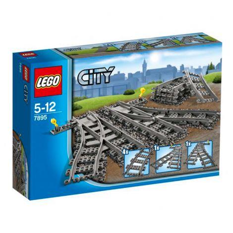 LEGO City  7895 Käsinohjattavat vaihteet
