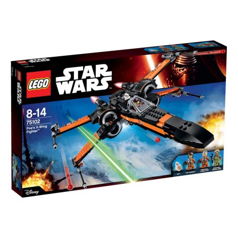 LEGO Star Wars 75102 Star Wars Poe's X-Wing Fighter