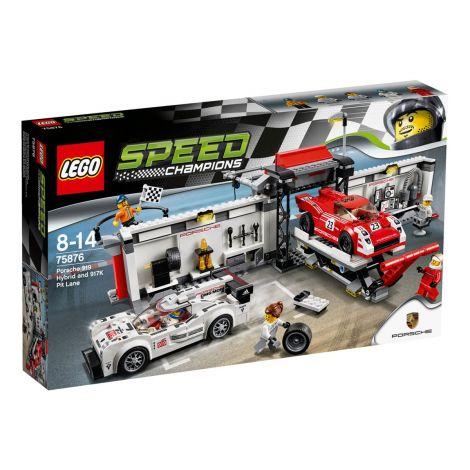LEGO Speed Champions 75876 Porsche 919 Hybrid ja 917K -Varikkorasia