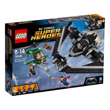 LEGO DC Comics Super Heroes 76046 Oikeuden sankarit taistelu taivaalla