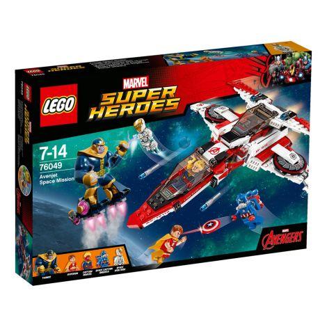 LEGO Marvel Super Heroes 76049 Avenjet- avaruustehtävä