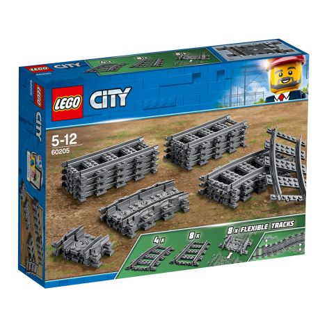 LEGO City Trains 60205 Raiteet