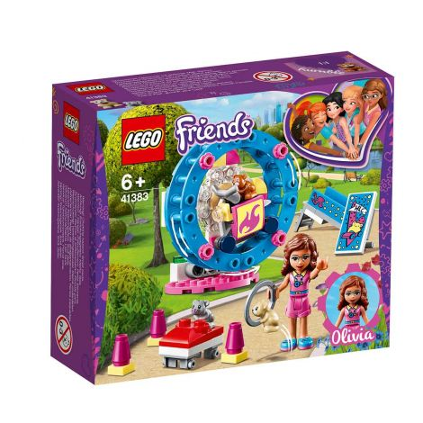 LEGO Friends 41383 Olivian hamsterileikkikenttä