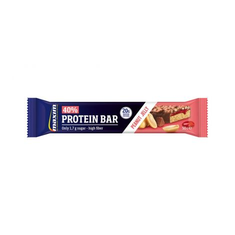 MAXIM PROTEIN 40% BAR PEANUT JELLY 50 G