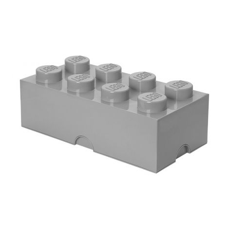 LEGO SÄILYTYSLAATIKKO 8 HARMAA 50X25X18CM
