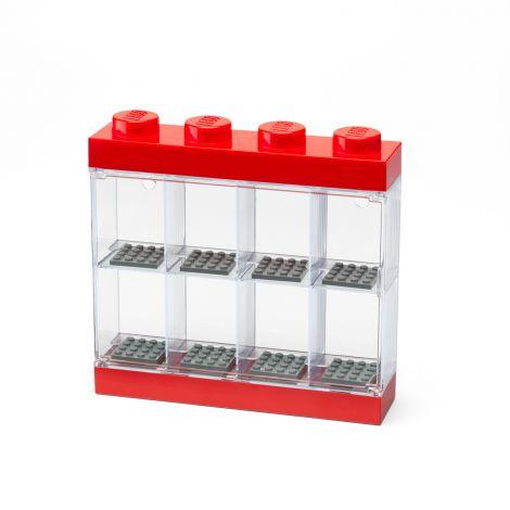 LEGO LEGO LOKERIKKO MINIFIGUUREILLE 8 PUNAINEN 19,1X18,