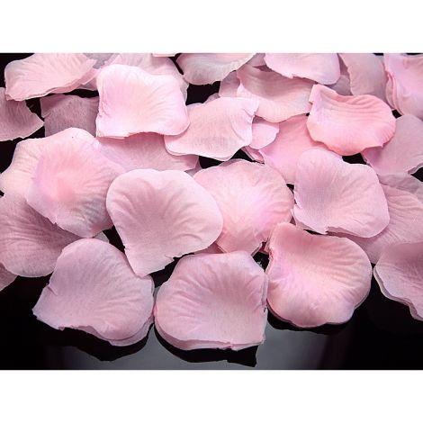 Ruusunterälehdet 500kpl, vaaleanpunainen