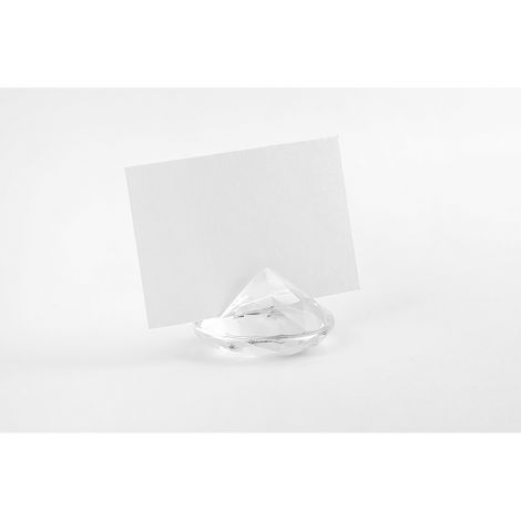 Paikkakorttipidike jättitimantti 40mm 10kpl, läpinäkyvä