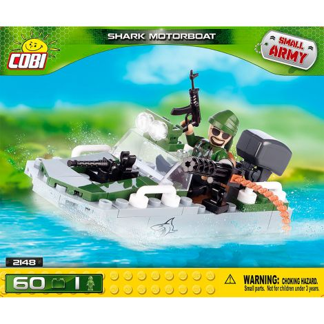 COBI MOTORBOAT SHARK, 60 OSAA