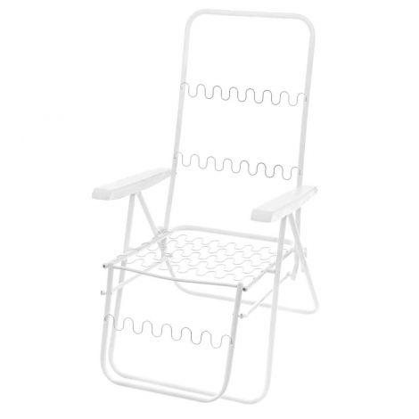 Baden-Baden tuolinrunko, valkoinen